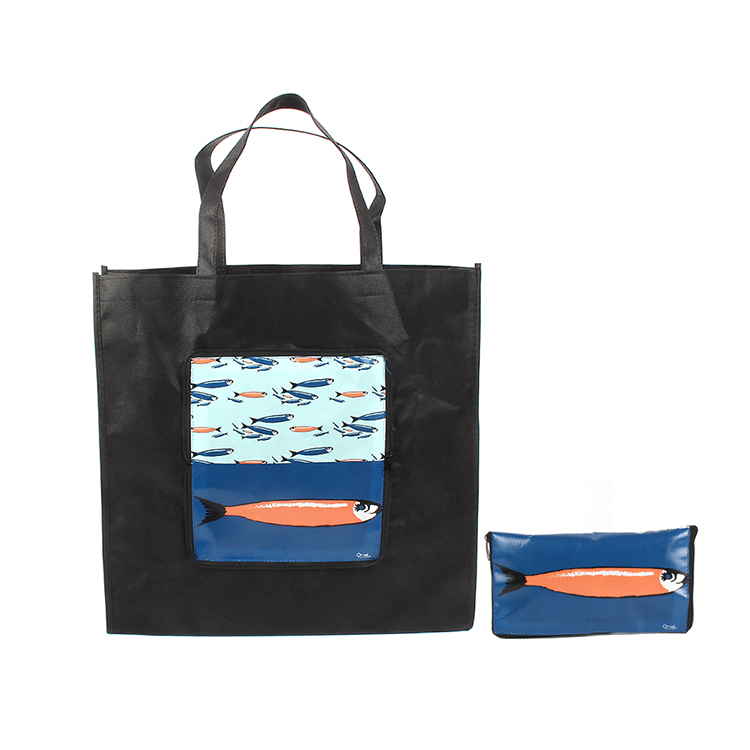 99d910e1b489 Promotion folding foldable shopping bag with photo on it Non Woven ...
